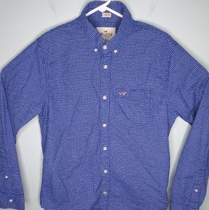 Hollister Stretch Long Sleeve Button Down Shirt